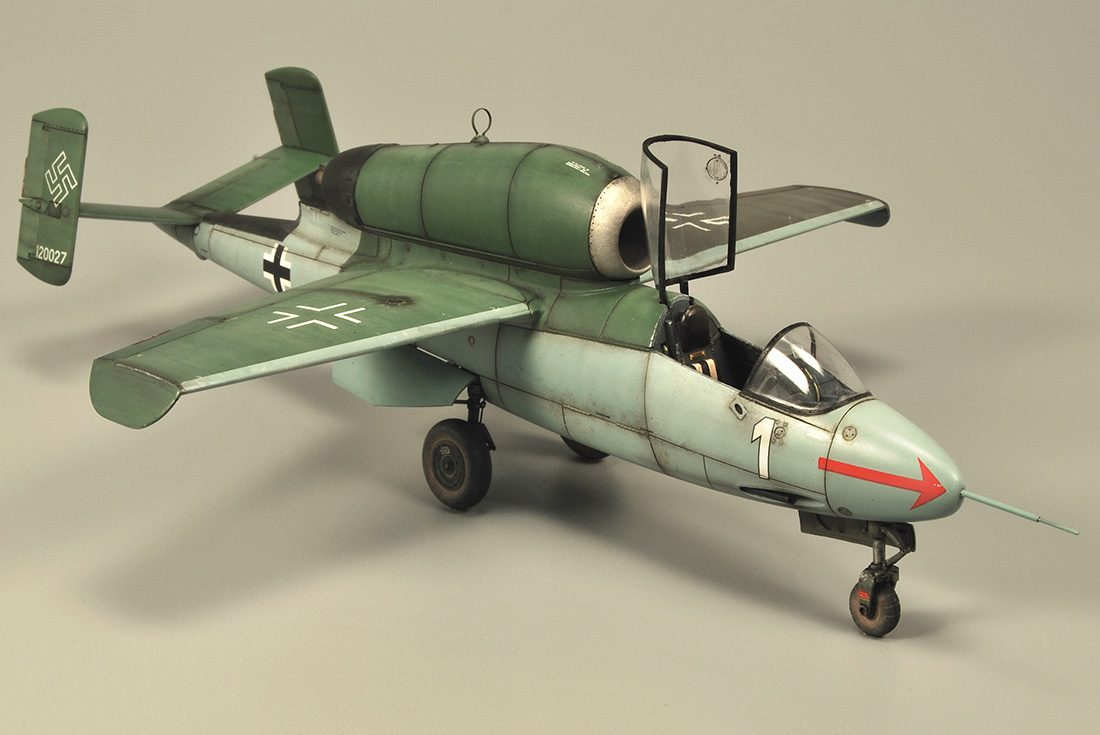 Heinkel HE162 A-2 «SALAMANDER»
