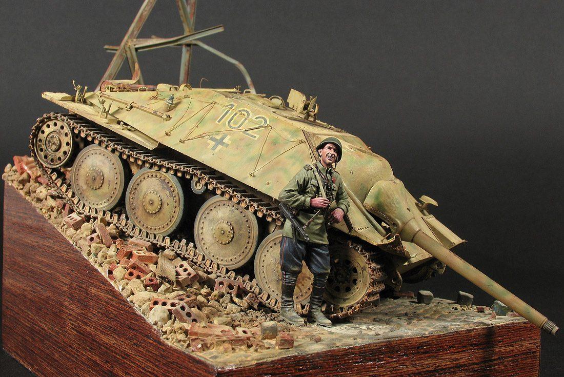 «Smoking Kill's», Jagdpanzer 38(t) Hetzer, Spätte Produktion