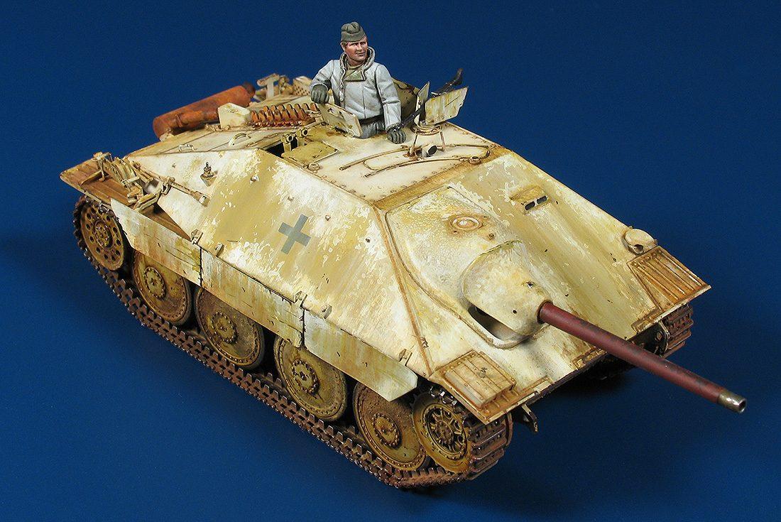 Jagdpanzer 38(t) Hetzer, Mitt Produktion