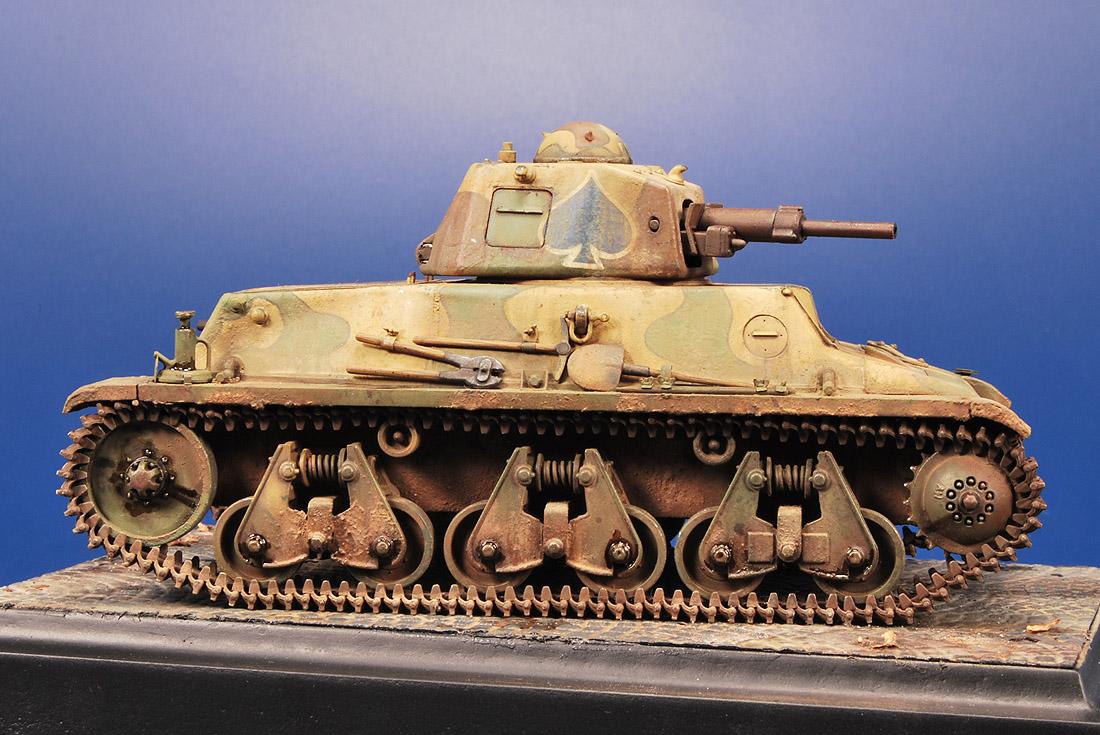 Hotchkiss H39 Light Tank Joaqu 237 N Garc 237 A Gazquez A
