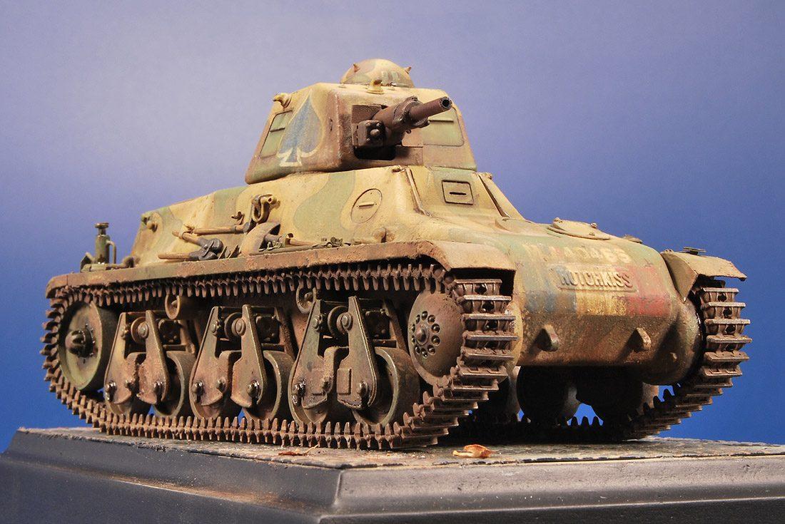 Hotchkiss H39 Light Tank