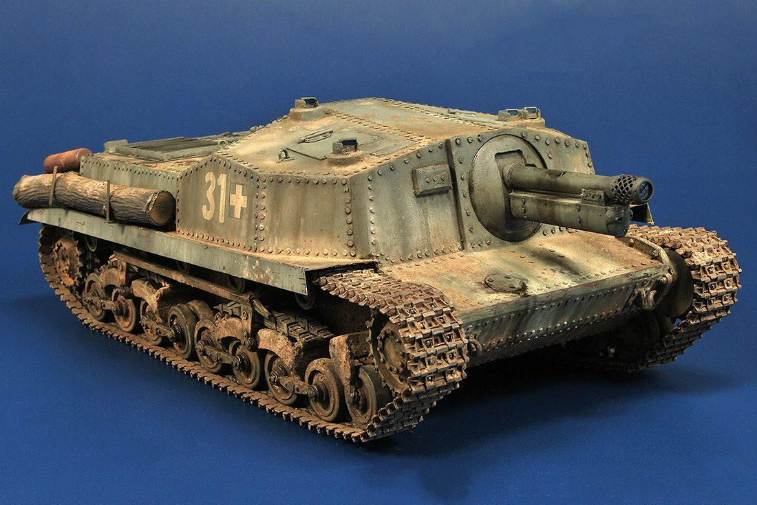 """40/43M """"Zrinyi"""" II 105mm Assault Gun"""