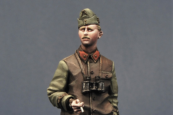 Hungarian Tank Officer WWII