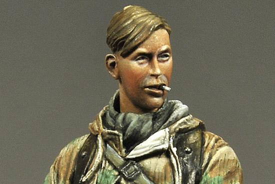 German Infantryman Ardenne 1944