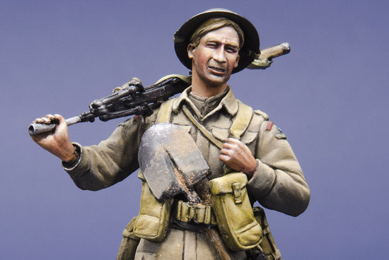 British Bren Gunner WWII