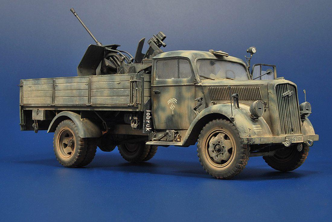 Opel Blitz Mitt Flak 38