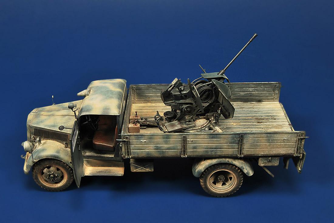 Opel Blitz Mitt Flak 38 Joaqu 237 N Garc 237 A Gazquez A