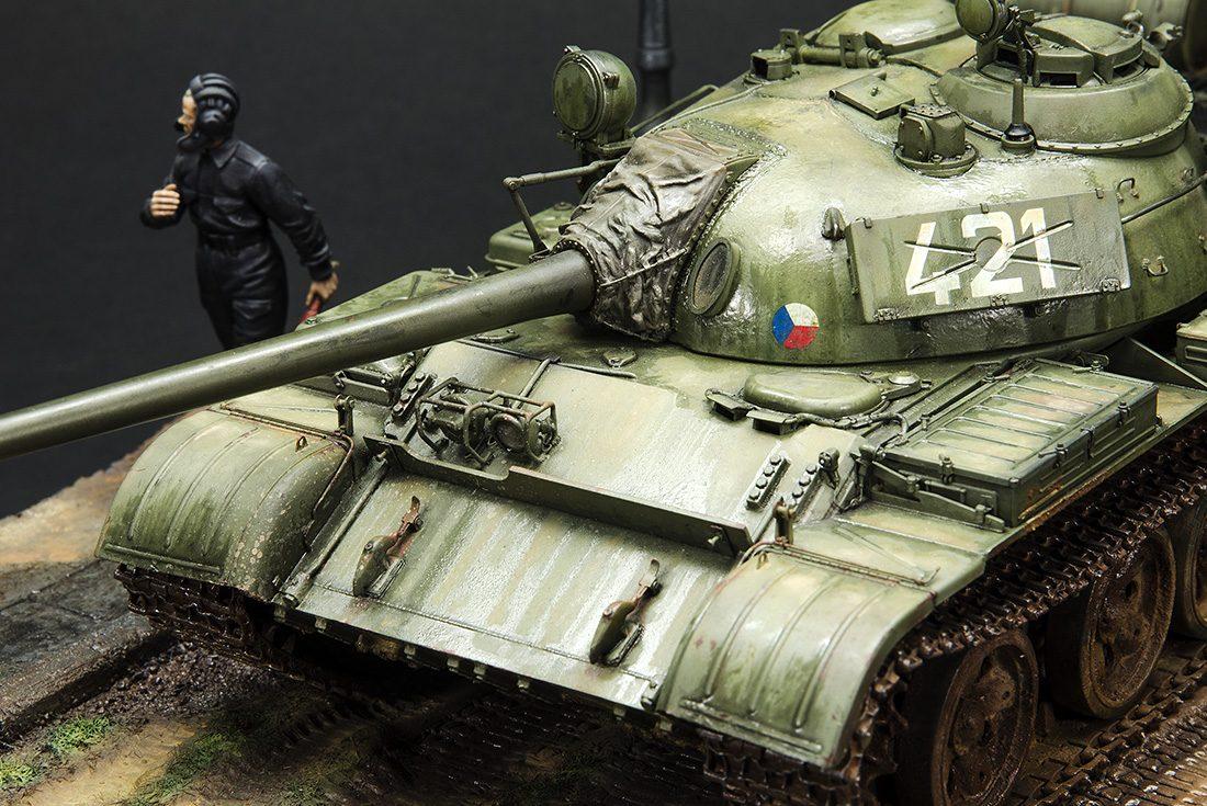 """T-55 """"In The Rain"""""""