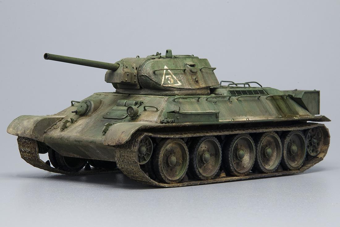 T 34 76 Model 1941 Joaqu 237 N Garc 237 A Gazquez A Modelling View