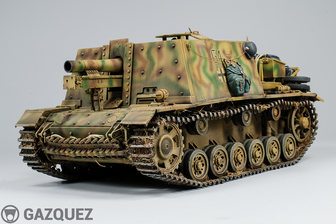 15cm Sturm.Infanteriegeschütz 33 Auf. Pz III