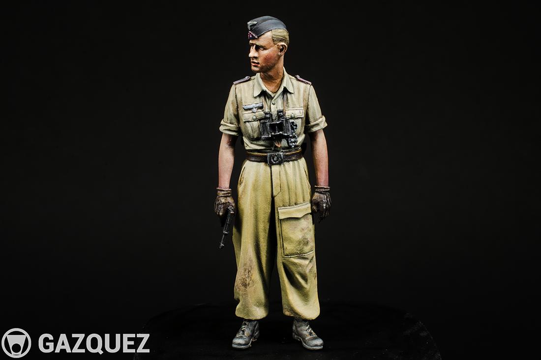 Panzer DAK Leutnant