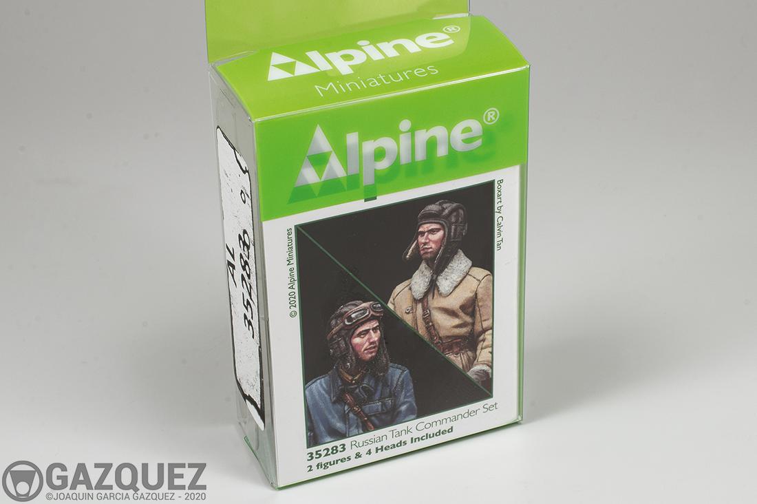 Review: Russian Tank Commander Set, Alpine #35283