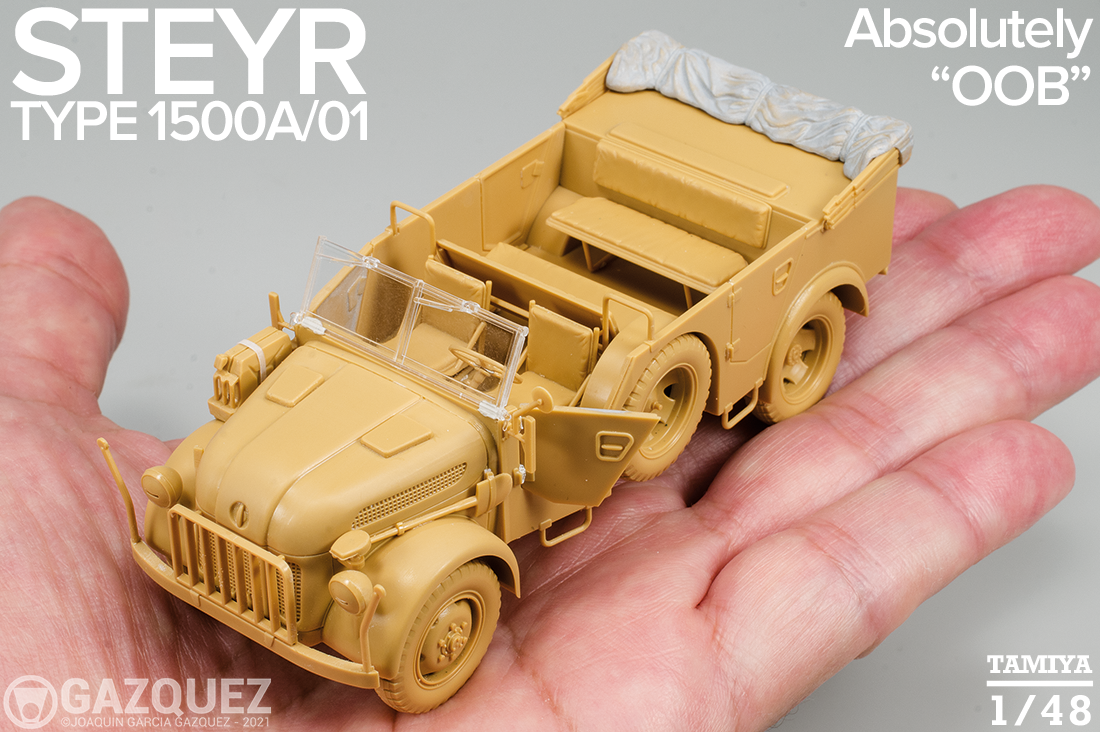Steyr Type 1500A/01, Ready to Paint