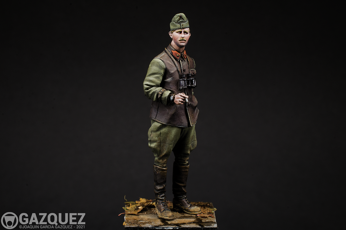 Hungarian Panzer Officer, The Bodi 1/35.