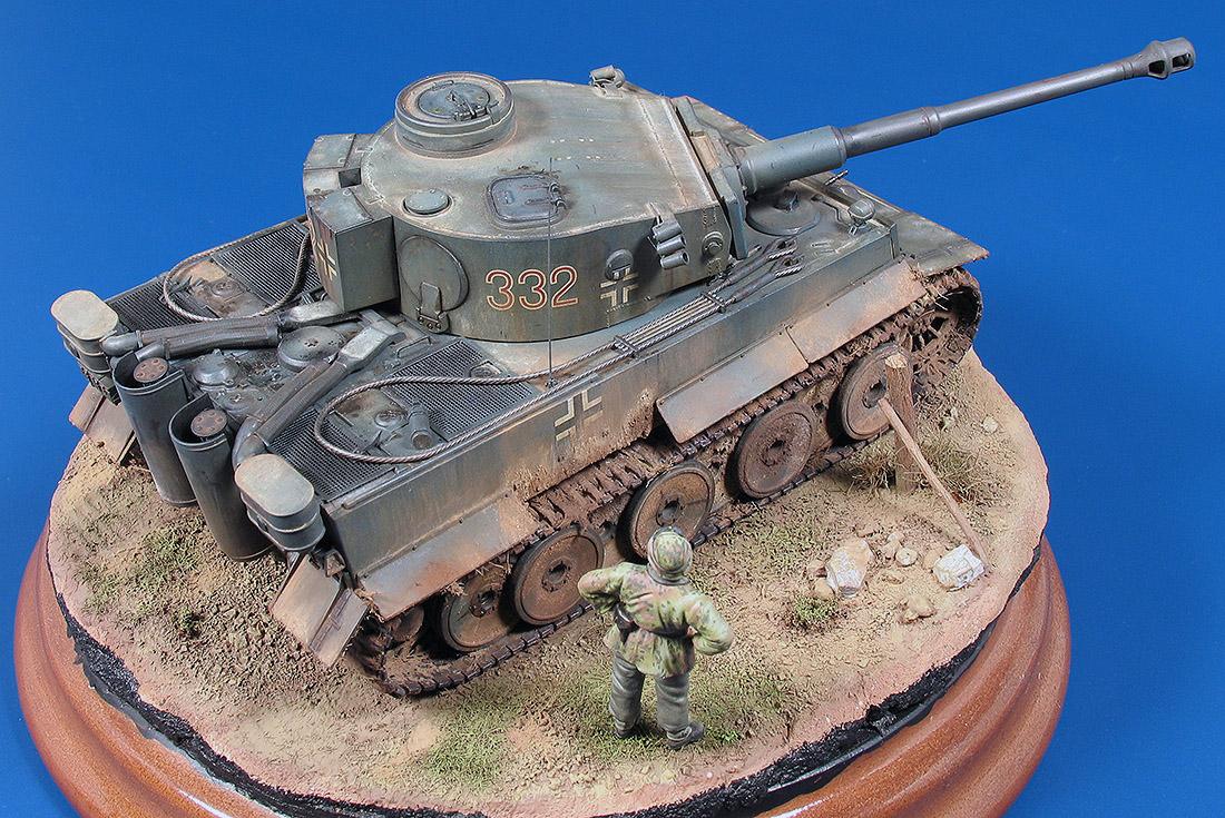Tiger I Ausf E Fr 252 He Produktion Joaqu 237 N Garc 237 A Gazquez