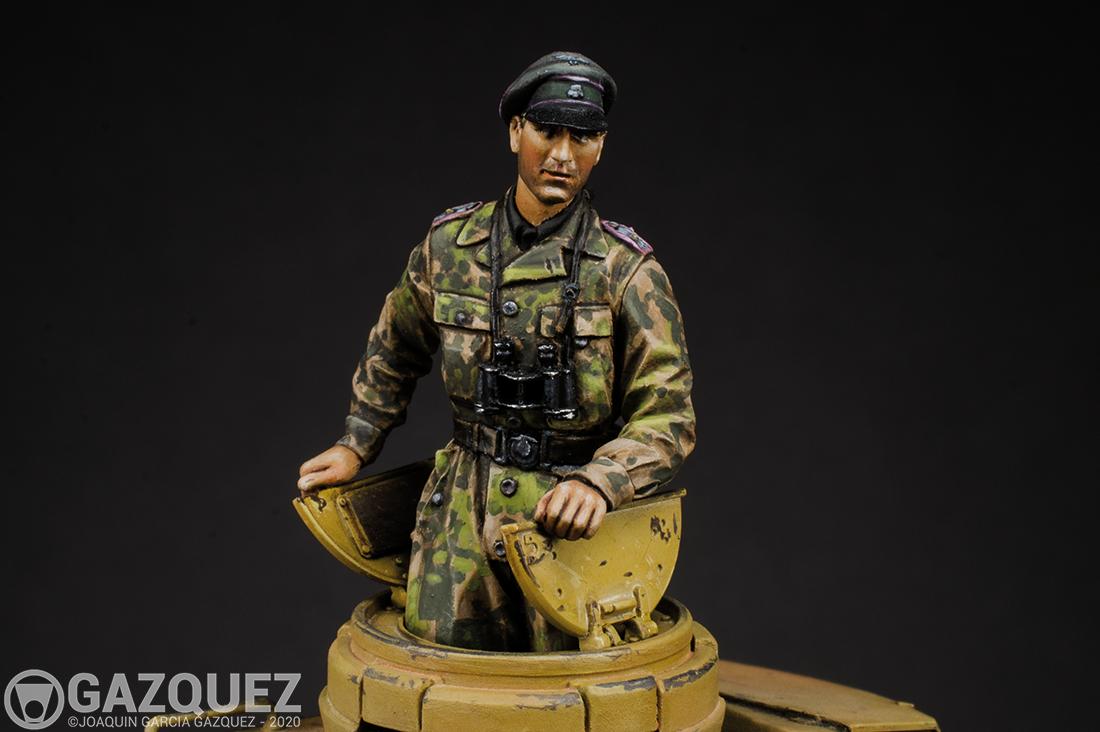 Waffen SS Panzer Officer